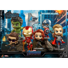 Hot Toys - COSB787 - The Avengers Cosbaby (S) Bobble-Head Collectible Set