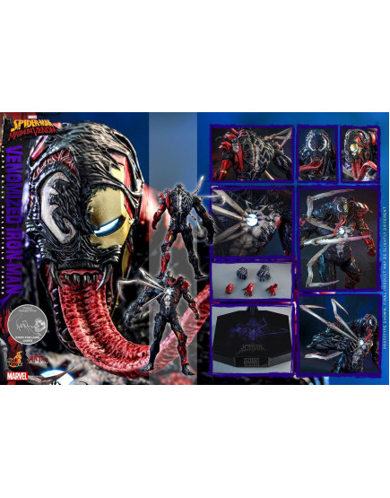 Hot Toys - AC04 - Marvel's Spider-Man: Maximum Venom - 1/6th Venomized Iron Man Collectible Figure