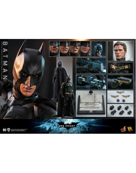Hot Toys - DX19 - The Dark Knight Rises - 1/6th Scale Batman Collectible Figure