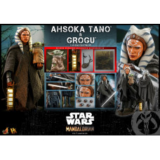 Hot Toys - DX21 - Star Wars™ The Mandalorian™ - 1/6th scale Ahsoka Tano & Grogu™ Collectible Set
