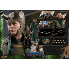 Hot Toys - MMS579 - Avengers: Endgame - 1/6th scale Loki
