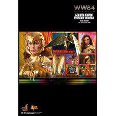 Hot Toys - MMS578 - Wonder Woman 1984 - 1/6 Golden Armor Wonder Woman (Deluxe Version)