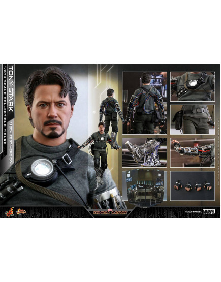 Hot Toys - MMS581 - Iron Man - 1-6th scale Tony Stark (Mech Test Version) Collectible Figure