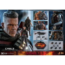 Hot Toys - MMS583 - Deadpool 2 - 1/6th scale Cable Collectible Figure