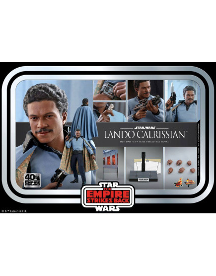 Hot Toys - MMS588 - Star Wars: The Empire Strikes BackT - 1/6th scale Lando CalrissianTM Collectible Figure