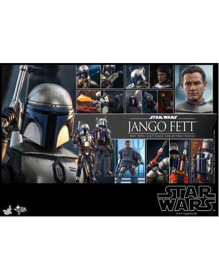 Hot Toys - MMS589 - Star Wars Episode II: Attack of the ClonesT - 1/6th scale Jango FettTM Collectible Figure