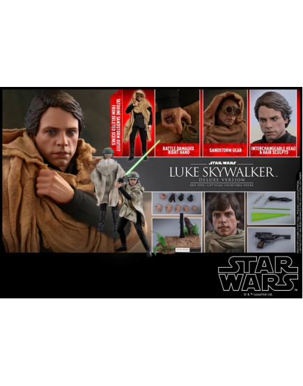 Hot Toys - MMS517 - Star Wars: RotJ - 1/6 Luke Skywalker (Dlx Ver.)