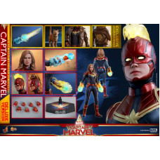 Hot Toys - MMS522 - Captain Marvel - 1/6Captain Marvel (Deluxe Version)