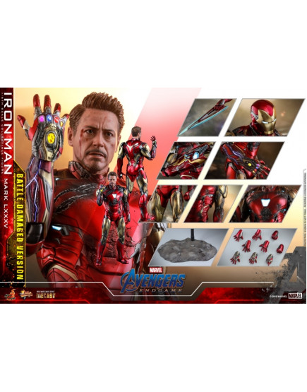 Hot Toys -MMS543D33 - Avengers: Endgame - 1/6 Iron Man Mark LXXXV (Battle Damaged Version)