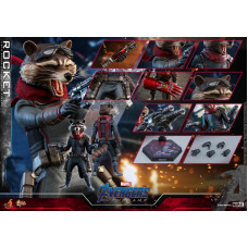 Hot Toys - MMS548 - Avengers: Endgame - 1/6 Rocket