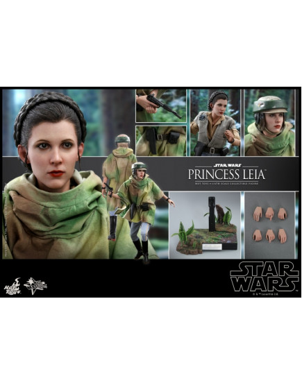 Hot Toys - MMS549 - Star Wars: Return of the Jedi 1/6 Princess Leia