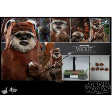 Hot Toys – MMS550 - Star Wars: Return of the Jedi - 1/6th Wicket