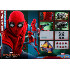 Hot Toys - MMS552 - Spider-Man: Far From Home - 1/6 Spider-Man (Homemade Suit Version)