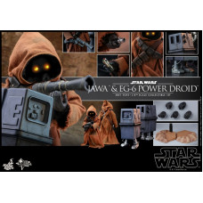 Hot Toys - MMS554 - Star Wars - Episode IV A New Hope - 1/6 Jawa & EG-6 Power Droid Collectible Set