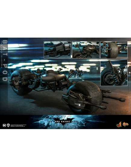 Hot Toys - MMS591 - The Dark Knight Rises - 1/6th scale Bat-Pod Collectible