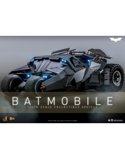 Hot Toys - MMS596 - Batman Begins - 1/6th scale Batmobile Collectible Vehicle
