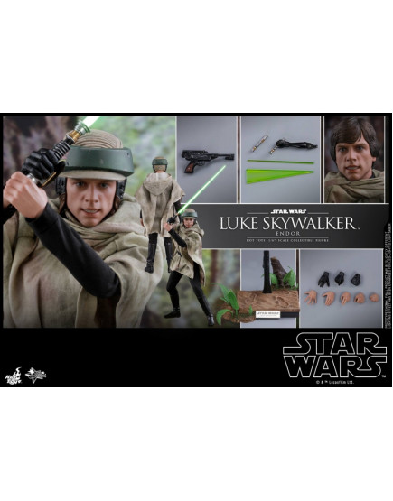 Hot Toys - MMS516 - Star Wars: RotJ - 1/6 Luke Skywalker (Endor)
