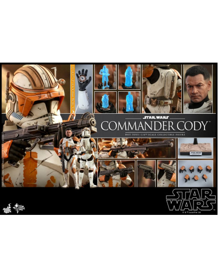 Hot Toys - MMS 524 - Star Wars: Ep III Revenge of the Sith - 1/6 Commander Cody