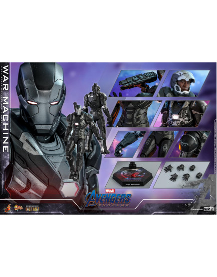 Hot Toys - MMS530D31 - Avengers: Endgame - 1/6 War Machine