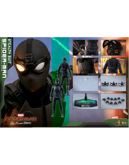 Hot Toys - MMS540 - Spider-Man: Far From Home - 1/6 Spider-Man (Stealth Suit)