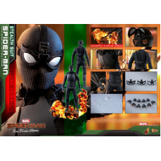 Hot Toys -MMS541- Spider-Man: Far From Home - 1/6 Spider-Man (Stealth Suit)(Deluxe Version)
