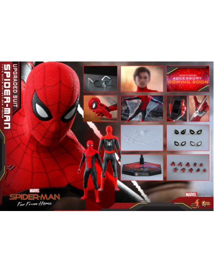 Hot Toys - MMS 542 - Spider-Man: Far From Home - 1/6 Spider-Man (Upgraded Suit)