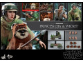 Hot Toys - MMS551 - Star Wars: Return of the Jedi 1/6 Princess Leia and Wicket