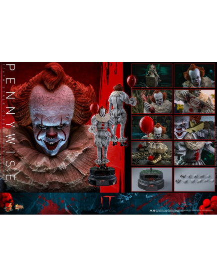 Hot Toys - MMS555 - IT Chapter Two - 1/6 Pennywise