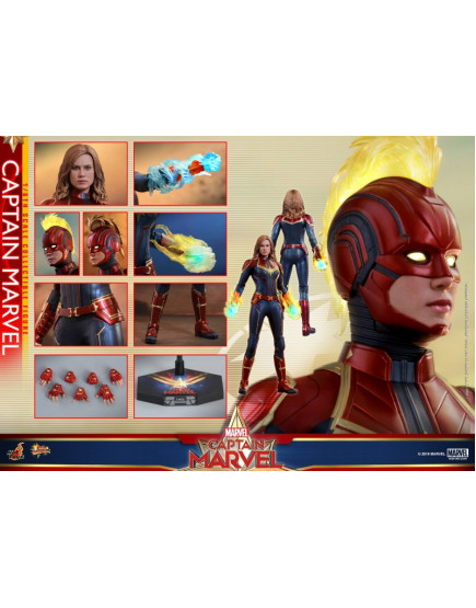 Hot Toys- MMS521 - Captain Marvel - 1/6 Captain Marvel
