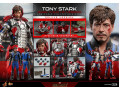 Hot Toys - MMS600 - Iron Man 2 - 1/6th scale Tony Stark (Mark V Suit up Version) Collectible Figure (Deluxe Version)