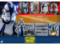 Hot Toys - TMS023 - Star Wars: The Clone Wars™ - 1/6th scale 501st Battalion Clone TrooperTM Collectible Figure (Deluxe Version)