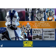 Hot Toys - TMS022 - Star Wars: The Clone Wars™ - 1/6th scale 501st Battalion Clone TrooperTM Collectible Figure