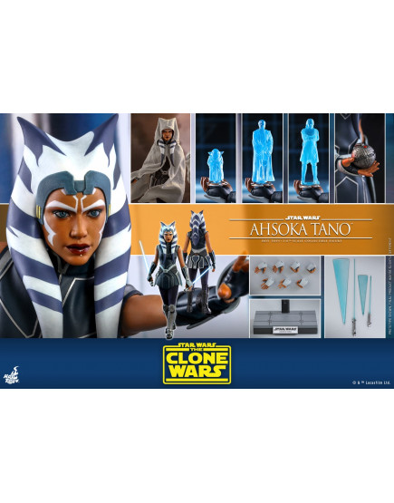 Hot Toys - TMS021 - Star Wars: The Clone Wars™ - 1/6th scale Ahsoka Tano™ Collectible Figure