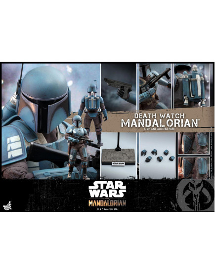 Hot Toys - TMS026 - The Mandalorian™ - 1/6th scale Death Watch Mandalorian™ Collectible Figure