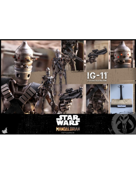 Hot Toys - TMS008 - The Mandalorian - 1/6 IG-11