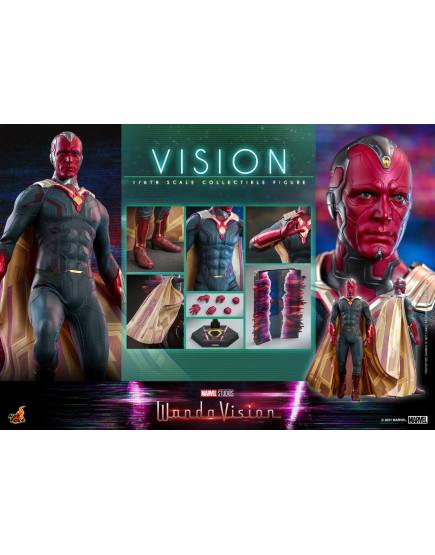 Hot Toys - TMS037 - WandaVision - 1/6th scale Vision Collectible Figure