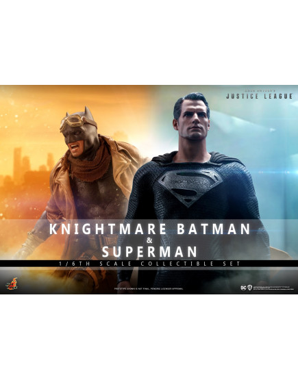 Hot Toys - TMS038 - Zack Snyder's Justice League - 1/6th scale Knightmare Batman and Superman Collectible Set