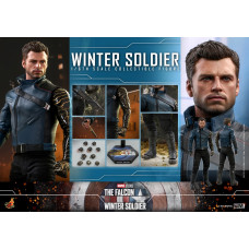 Hot Toys - TMS039 - The Falcon and the Winter Soldier - 1/6th scale Winter Soldier Collectible Figure