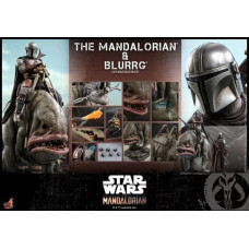 Hot Toys - TMS046 - Star Wars: The Mandalorian - 1/6th scale Mandalorian & Blurrg Collectible Set
