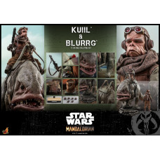 Hot Toys - TMS049 - Star Wars: The Mandalorian™ - 1/6th scale Kuiil & Blurrg Collectible Set
