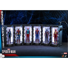 Hot Toys - VGMC022 - Marvel's Spider-Man - Spider-Man Armory Miniature Collectible Set (Series 2)