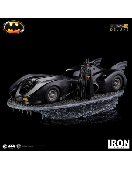 Iron Studios 1/10 BDS Art Scale - Batman (1989) - Batmobile Deluxe