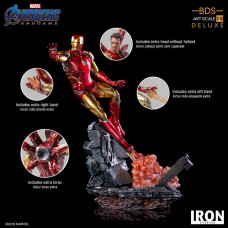 Iron Studios 1/10 BDS Art Scale - Avengers : Endgame - Iron Man Mark 85 Deluxe