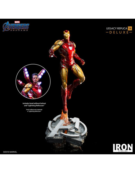 Iron Studios 1/4 Scale Avengers : Endgame - Iron Man Mark 85 Deluxe