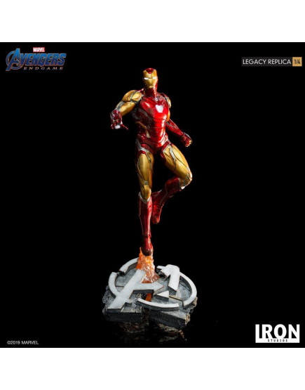 Iron Studios 1/4 Scale Avengers : Endgame - Iron Man Mark 85