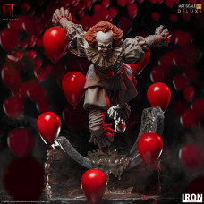 Iron Studios - Pennywise Deluxe Art Scale 1/10 - IT Chapter Two